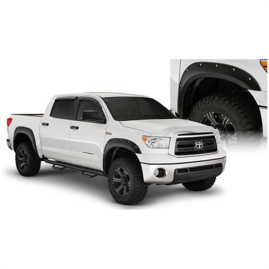 Bushwacker 30911-02 Pocket Fender Flares Front Rear Tundra