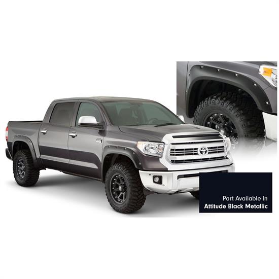 Bushwacker 30918-43 Pocket Style Painted Fender Flares F/R Tundra