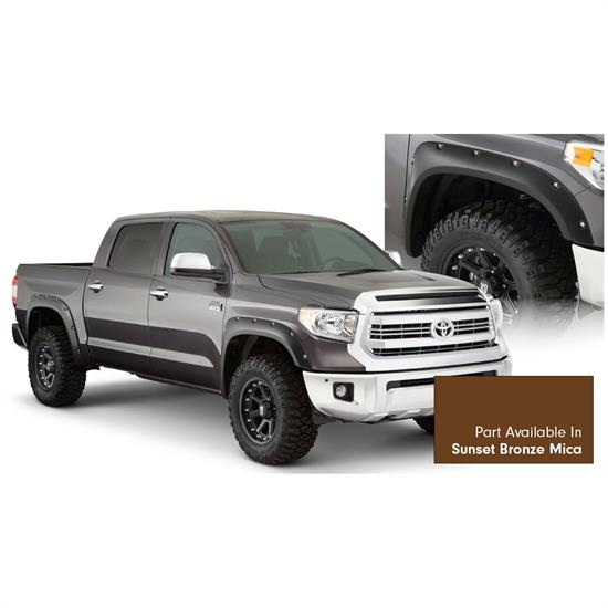 Bushwacker 30918-83 Pocket Style Painted Fender Flares F/R Tundra
