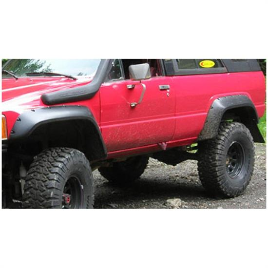 Bushwacker 31022-11 Cut-Out Fender Flares Rear 84-89 4Runner