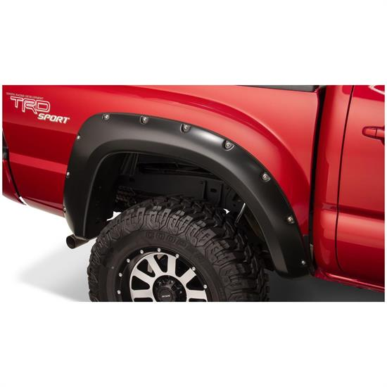 Bushwacker 31052-02 Pocket Style Fender Flares Rear 05-15 Tacoma