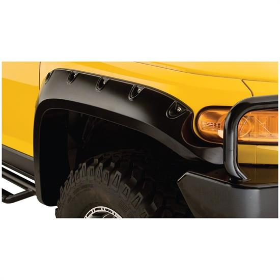 Bushwacker 31063-02 Pocket Fender Flares Front, 07-14 Fj Cruiser