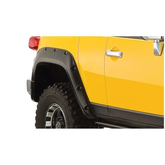 Bushwacker 31064-02 Pocket Style Fender Flares Rear Fj Cruiser