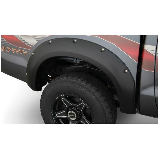 Bushwacker 31082-02 Pocket Style Fender Flares Rear 11-13 Hilux