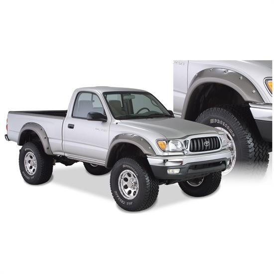 Bushwacker 31919-02 Cut-Out Fender Flares F/R Set/4, 95-04 Tacoma