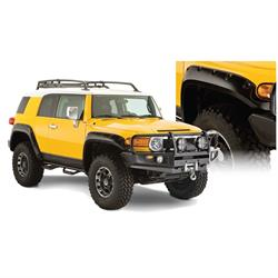 Bushwacker 31922-02 Pocket Style Fender Flares F/R 4pc Fj Cruiser