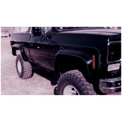Bushwacker 40004-11 Cut-Out Fender Flares Rear Chevy/GMC