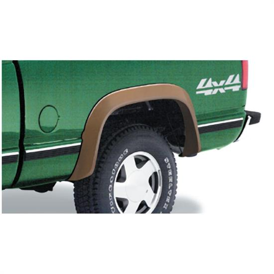 Bushwacker 40008-01 Extend-A-Fender Flares Rear Pair, Chevy/GMC