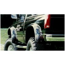 Bushwacker 40009-11 Cut-Out Fender Flares Screw Pocket Chevy/GMC