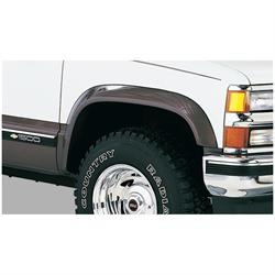 Bushwacker 40013-01 Extend-A-Fender Flares Front Pair, Chevy/GMC