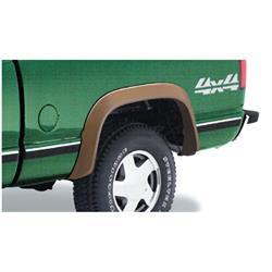 Bushwacker 40014-01 Extend-A-Fender Flares Rear Pair, Chevy/GMC