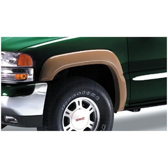 Bushwacker 40031-02 Extend-A-Fender Flares Front Pair, Chevy/GMC