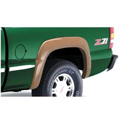 Bushwacker 40032-02 Extend-A-Fender Flares Rear Pair, Chevy/GMC