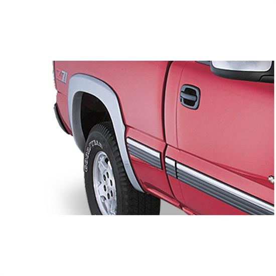 Bushwacker 40034-02 OE Style Fender Flares Rear Pair, Chevy/GMC