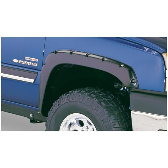 Bushwacker 40059-02 Pocket Style Fender Flares Front Chevy/GMC