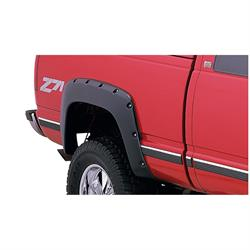 Bushwacker 40062-02 Pocket Style Fender Flares Rear Pair, Chevy