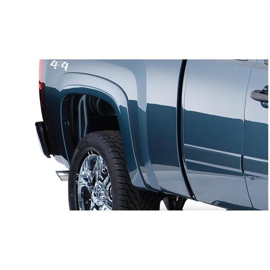 Chevy Silverado Fender Flares >> Bushwacker 40088 02 Oe Fender Flares Rear 07 13 Silverado 1500