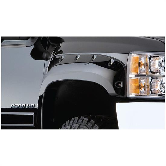 Bushwacker 40097-02 Cut-Out Fender Flares Fr Silverado 1500-3500