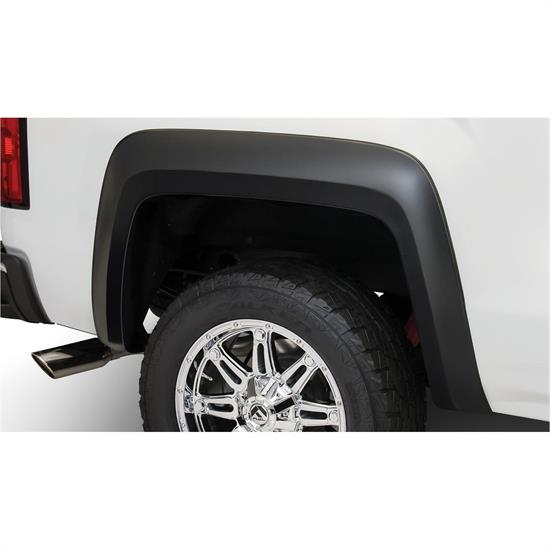 Bushwacker 40100-02 Extend-A-Fender Flares Rear Sierra 1500-3500