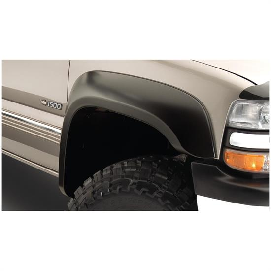 Bushwacker 40103-02 Extend-A-Fender Flares Front Pair, Chevy/GMC