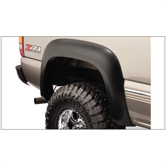 Bushwacker 40104-02 Extend-A-Fender Flares Rear Pair, Chevy/GMC