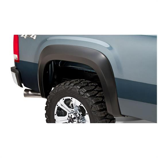 Bushwacker 40110-02 Extend-A-Fender Flares Rear 07-13 Sierra 1500