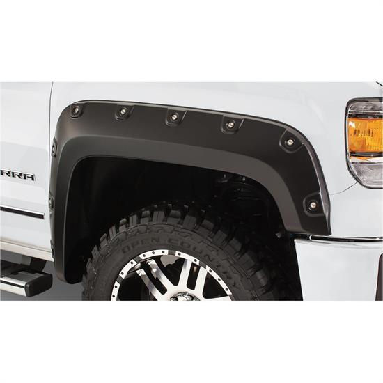 Bushwacker 40117-02 Boss Pocket Fender Flares Front Sierra 1500