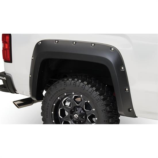 Bushwacker 40122-02 Pocket Fender Flares Rear, Sierra 1500-3500