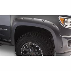 Bushwacker 40137-02 Pocket Fender Flares Front, Colorado/Canyon