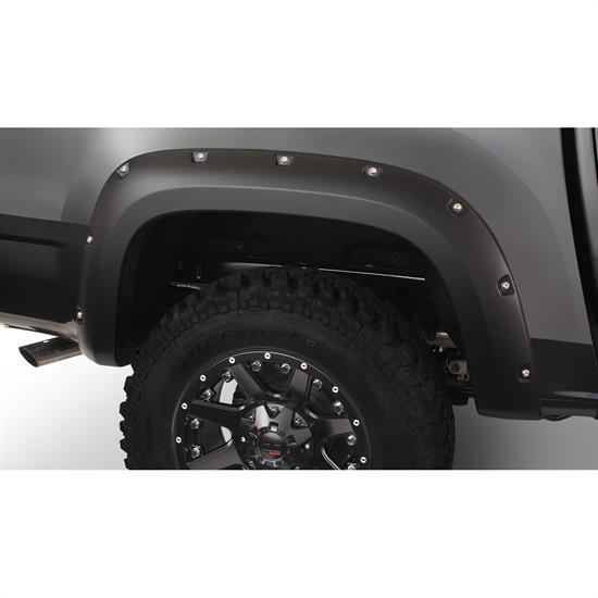 Bushwacker 40140-02 Pocket Fender Flares Rear, Colorado/Canyon