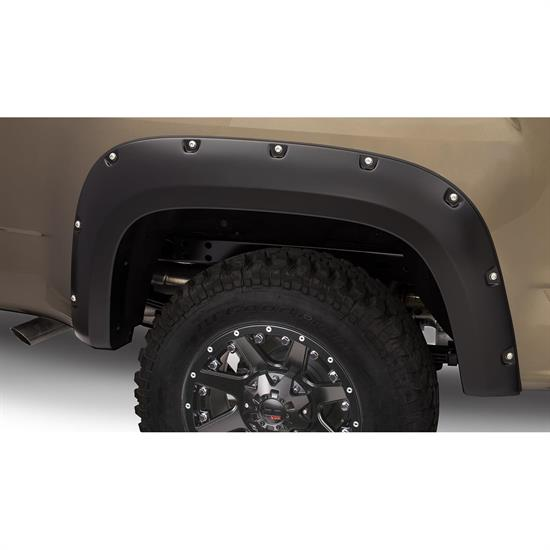 Bushwacker 40142-02 Pocket Style Fender Flares Rear 15-17 Canyon