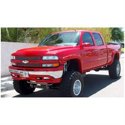 Bushwacker 40917-02 Pocket Style Fender Flares F/R 4pc, Chevy/GMC