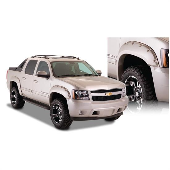 Bushwacker 40932-02 Pocket Fender Flares F/R 4pc, 07-13 Avalanche