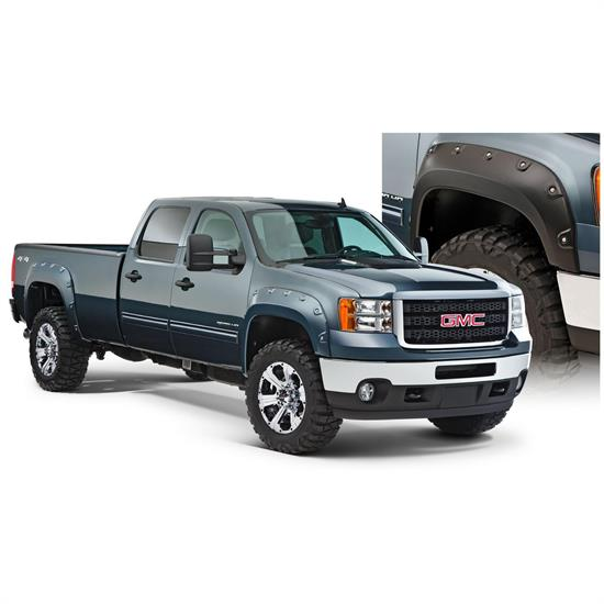 Bushwacker 40943-02 Boss Pocket Fender Flares F/R Sierra 25003500