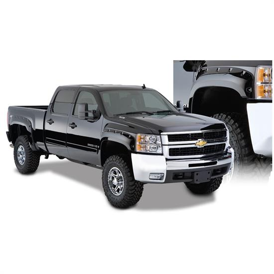 Bushwacker 40949-02 Cut-Out Fender Flares F/R Silverado 1500-3500