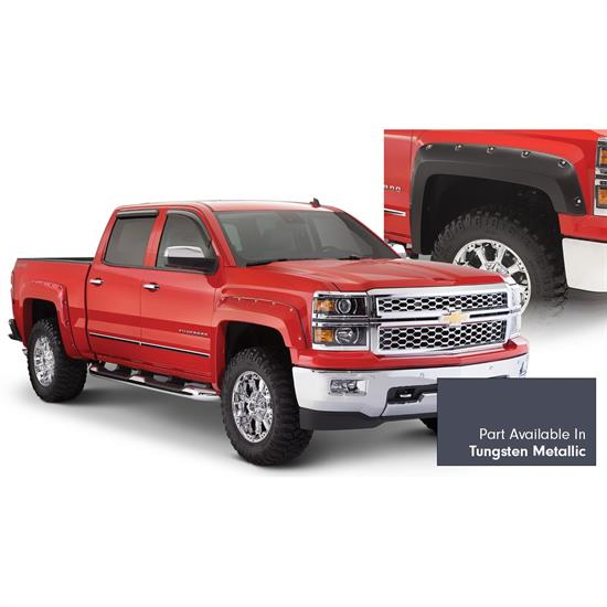 Bushwacker 40957-64 Pocket Painted Fender Flares Silverado