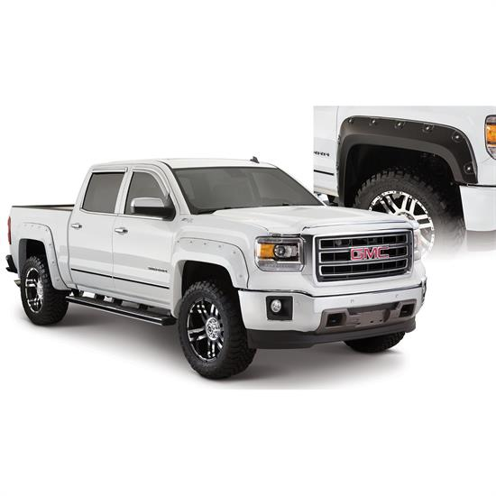 Bushwacker 40958-02 Boss Pocket Fender Flares F/R Sierra 1500