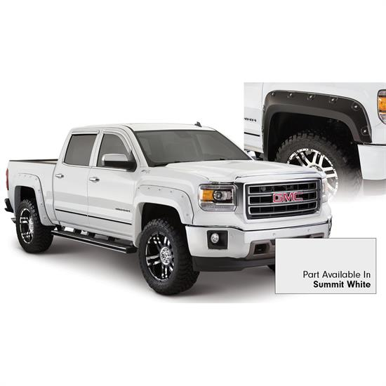 Bushwacker 40958-14 Boss Pocket Painted Fender Flares Sierra 1500