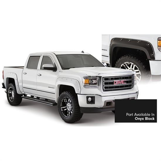 Bushwacker 40958-34 Boss Pocket Painted Fender Flares Sierra 1500