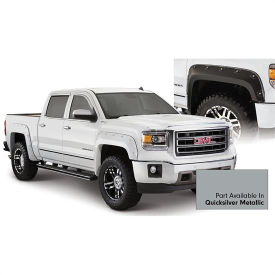 Bushwacker 40958-54 Boss Pocket Painted Fender Flares Sierra 1500