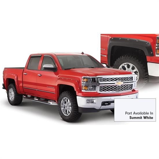 Bushwacker 40959-14 Pocket Painted Fender Flares Silverado 1500