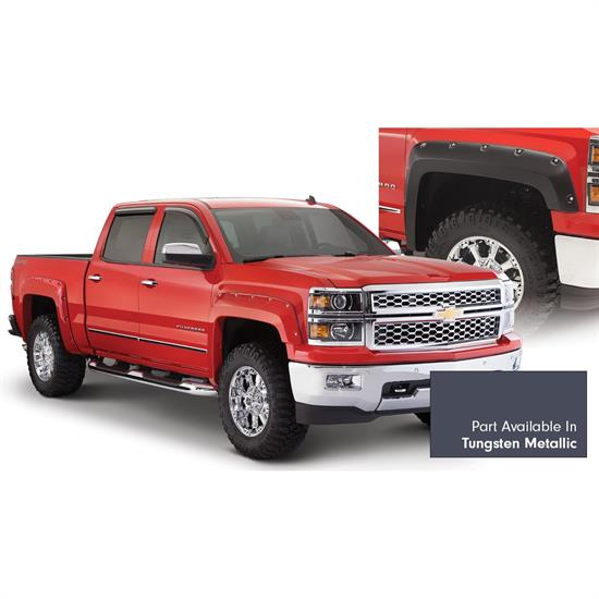 Bushwacker 40959-64 Pocket Painted Fender Flares Silverado 1500