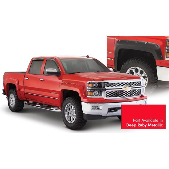 Bushwacker 40959-74 Pocket Painted Fender Flares Silverado 1500