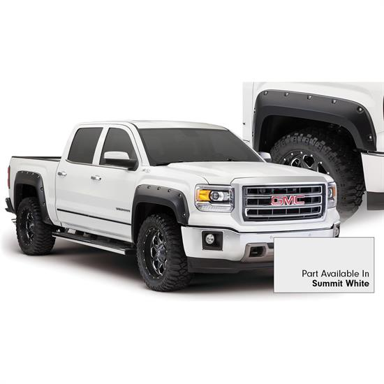 Bushwacker 40960-14 Pocket Painted Fender Flares F/R Sierra 1500
