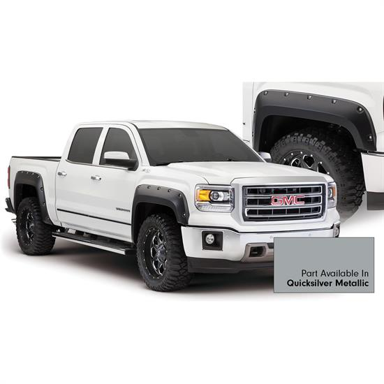 Bushwacker 40960-54 Pocket Painted Fender Flares F/R Sierra 1500