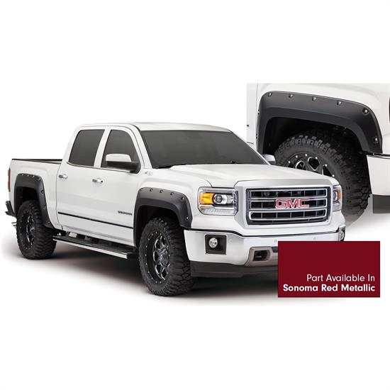Bushwacker 40960-74 Pocket Painted Fender Flares F/R Sierra 1500