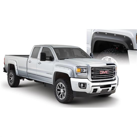 Bushwacker 40967-02 Pocket Fender Flares F/R 4pc Sierra 2500/3500