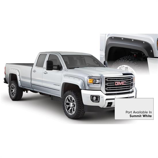 Bushwacker 40967-14 Pocket Painted Fender Flares F/R Sierra