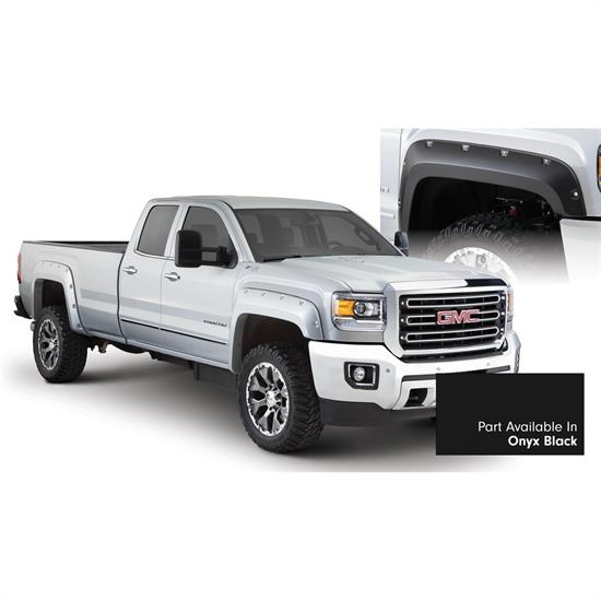 Bushwacker 40967-34 Pocket Painted Fender Flares F/R Sierra