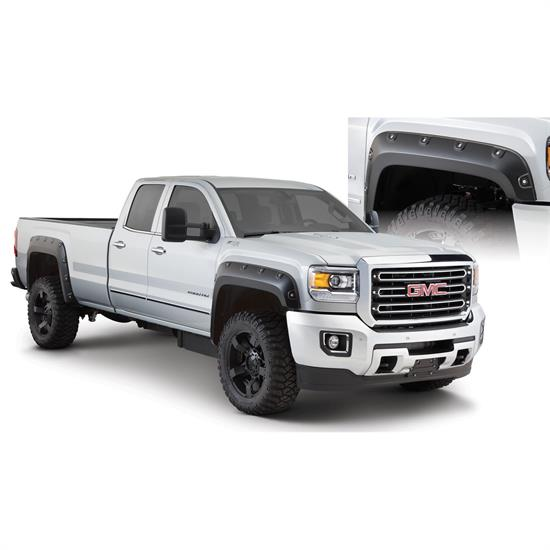 Bushwacker 40968-02 Boss Pocket Fender Flares F/R Sierra 25003500